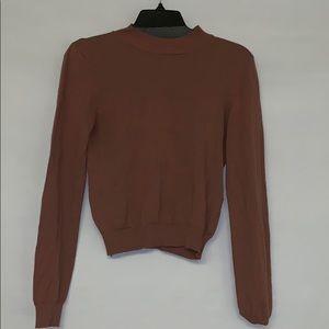 Forever 21 Dark Rose Sweater